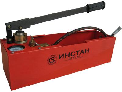 Опрессовщик систем отопления ОГС-40 (опрессовщик)